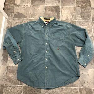 Men's Vintage Tommy Hilfiger Corduroy Button Shirt